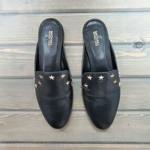 Michael Kors | Natasha Black Star Studded Mule 9